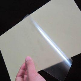 Hojas autoadhesivas transparente PVC 37 x 50 x 10 Hs