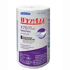 Rollo de limpieza profesional Wypall X70 x 88 paños