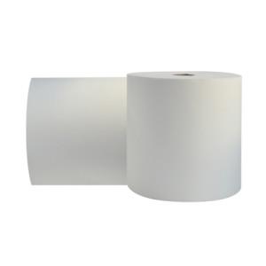 Toalla de manos tipo jumbo color blanco, rollo x 300 mtrs x 2 unidades