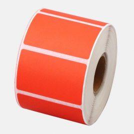 Rollo de etiquetas autoadhesivas Termicas 50mm x 30mm x 1500 etiq fondeadas color