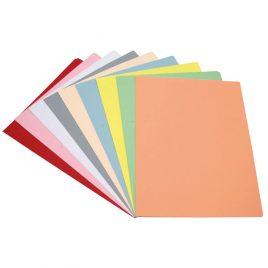 Separadores oficio cartulina color  x 25 unidades