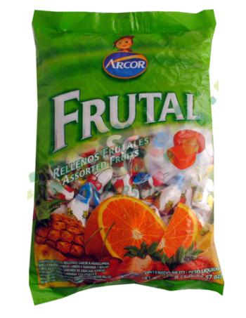 caramelos frutales