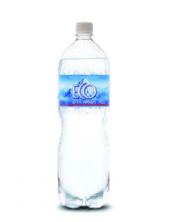 agua eco de los andes con gas x 1500cc