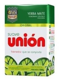 Yerba Union bajo contenido de polvo x 1 kg